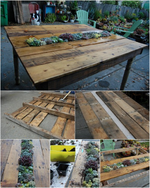 35 Outdoor Pallet Projects