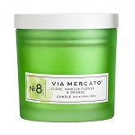 Clove, Vanilla Flower, & Orange No.8 - Via Mercato - Soy Candle - 8 oz