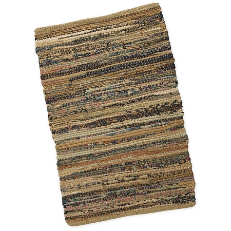 Taupe Chindi Accent Rug - Sale/Final Cut