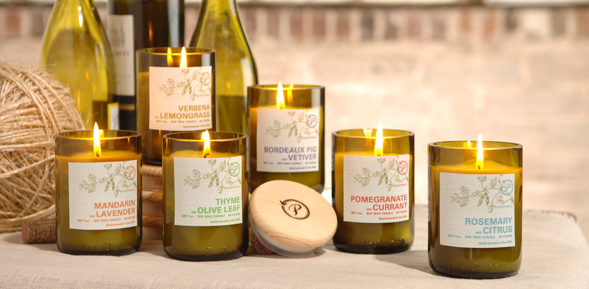 Paddywax Eco Green Soy Candle Collection