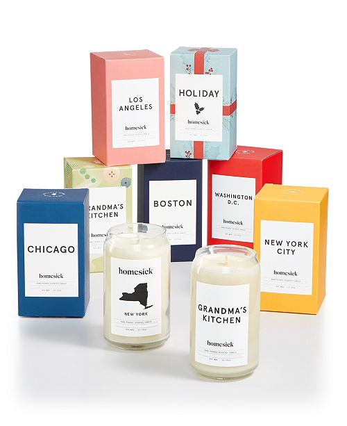 Homesick Candles & Diffusers