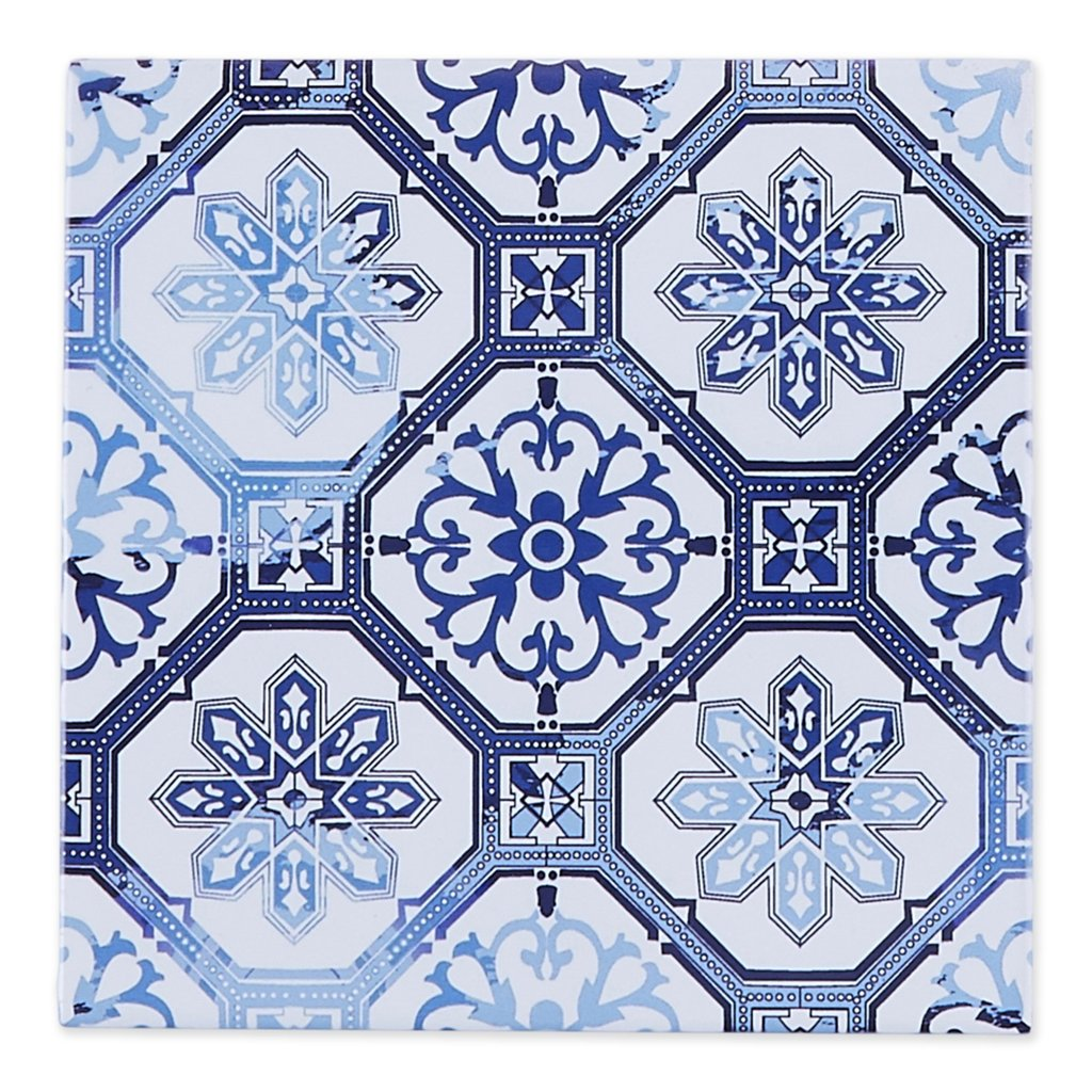Lisbon Portugal Earthenware Tile Kitchen Trivet