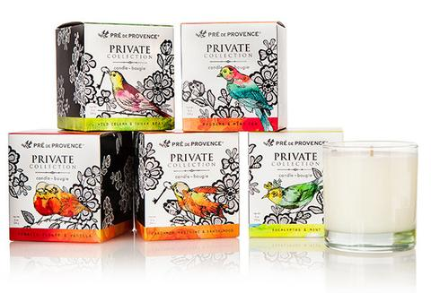 Pre de Provence Private Soy Candle Collection