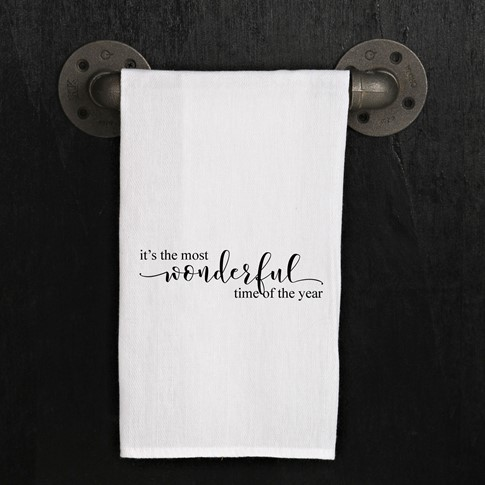 It's The Most Wonderful Time of The Year - Kitchen Dish Towel
