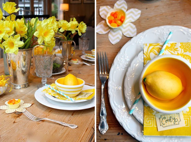 20 Clever Spring Table Decorations