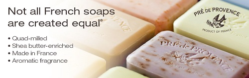 Pre de Provence French Soap Quad Milled