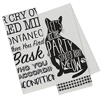 Cats - Printed Dish Towels