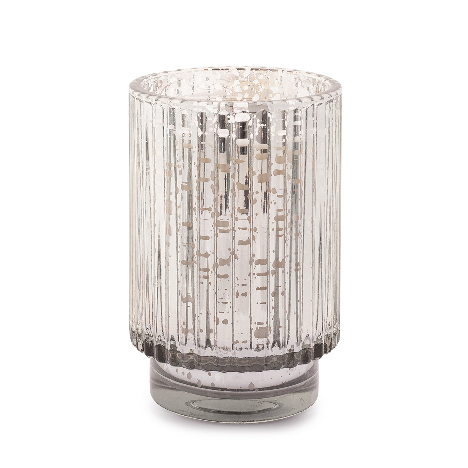 **PRE-ORDER** | Cypress & Fir - Paddywax Tall Silver Mercury Glass Soy Candle - 12oz