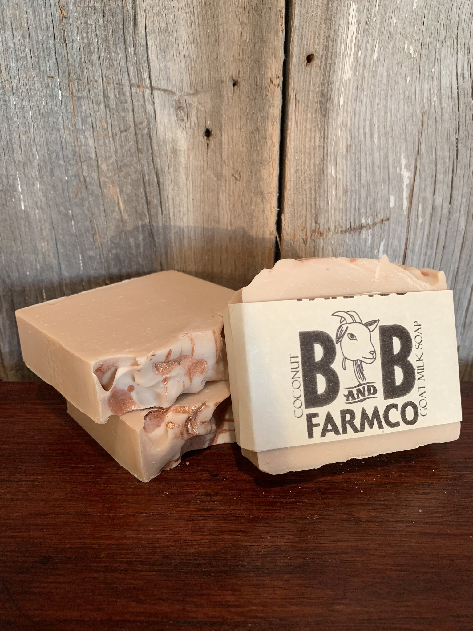 Coconut - B and B Farm Co - Natural Goat's Milk Bar Soap