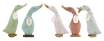 DCUK - Small Vintage Finish Wooden Duckling