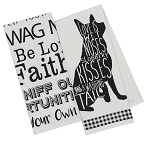Dogs - Printed Dish Towels