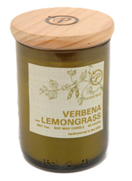 Verbena and Lemongrass - Paddywax Eco Green - Soy Candle - 8 oz