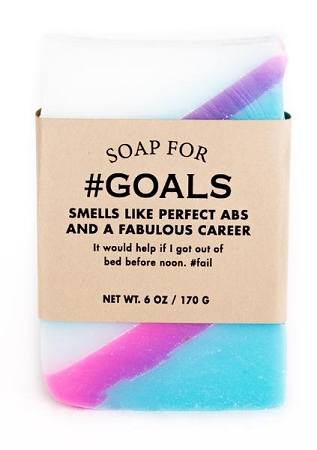 Soap for #Goals - 170g / 6oz  - Sale/Final Cut