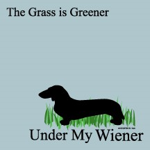 The Grass Is Greener Under My Wiener - Post-it / Sticky Notes - Sale/Final Cut