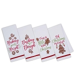 Holiday Baking - Printed Dish Towels