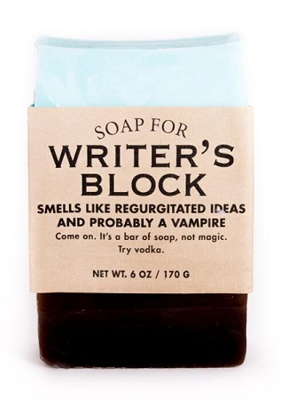 Soap for Writer's Block - 170g / 6oz  - Sale/Final Cut