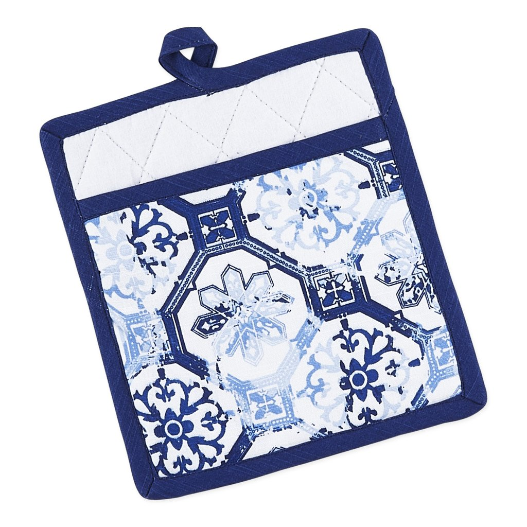 Lisbon Portugal Printed Cotton Potholder