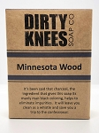 Minnesota Wood Bar Soap - Dirty Knees Soap - 4.2 oz / 119g