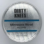 Minnesota Wood Soy Candle - Dirty Knees Soap Co - 5.7 oz - Sale/Final Cut