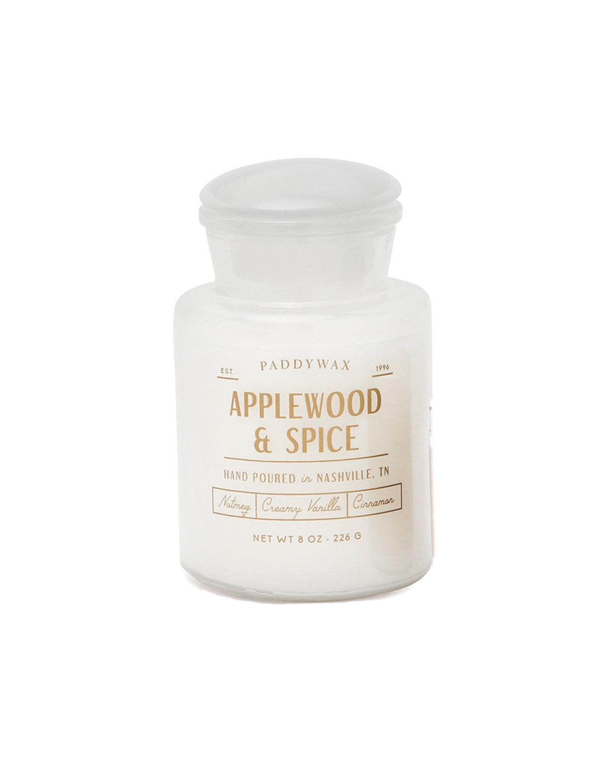 Applewood & Spice - Paddywax Farmhouse - Soy Candle - 8 oz