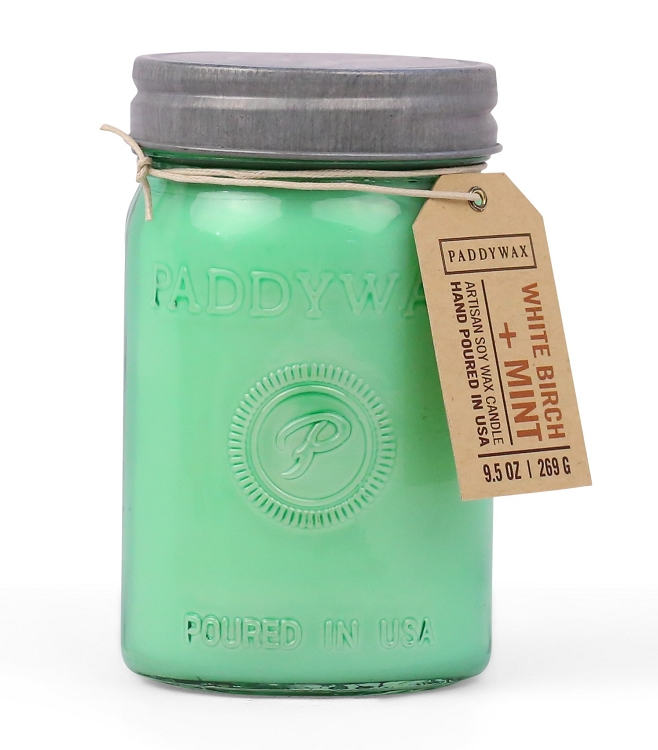 White Birch & Mint - Paddywax Relish - Soy Candle - 9.5oz