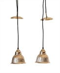 Brushed Nickel Hanging Pendant Light -Sale/Final Cut