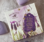 Lavender - Pre de Provence - French Heart Soap - Hearts of Provence Gift Box - 4 x 100g