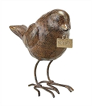 Brown Resin Bird with