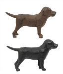 Cast Iron - Labrador Dog Figure - 8 Inch
