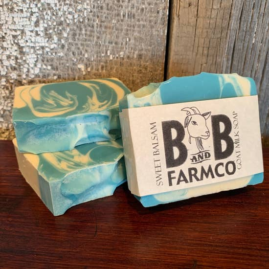 Sweet Balsam - B and B Farm Co - Natural Goat's Milk Bar Soap