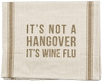 Wine Flu - Dish Towel