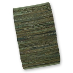 Olive Chindi Accent Rug - Sale/Final Cut