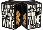 Say More Wine - Cork Holder