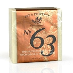 No. 63 - Shea Butter Enriched - Pre de Provence - French Bar Soap - 200g / 7oz