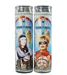 Absolutely Fabulous - Patsy & Edina - Celebrity Prayer Candle Set (2) - Sale/Final Cut