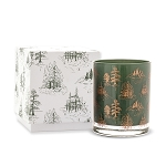 **PRE-ORDER** | Cypress & Fir - Paddywax Boxed Green Glass Soy Candle - 7oz