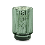 Cypress & Fir - Paddywax Tall Green Mercury Glass Soy Candle - 12oz