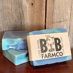 Cool Water - B and B Farm Co - Natural Goat's Milk Bar Soap