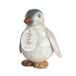 DCUK - Hand Painted Wooden Baby Emperor Penguin