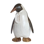 DCUK - Hand Painted Wooden Small Emperor Penguin