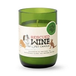 Fresh Grass - Rescued Wine Soy Candle - 12oz