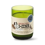 Fresh Linen - Rescued Wine Soy Candle - 12oz