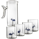 Fish - Glass Decanter Set