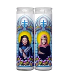Grace & Frankie - Celebrity Prayer Candle Set (2) - Sale/Final Cut