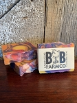 Kaleidosoap - B and B Farm Co - Natural Goat's Milk Bar Soap