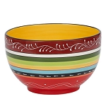 Large La Cocina Hand-painted Earthenware Bowl