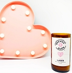 Love Lager - Craft Beer Soy Candle - 8.5oz - Sale/Final Cut