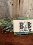 Patchouli Mint - B and B Farm Co - Natural Goat's Milk Bar Soap