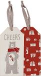 Cheers - Wine Bottle Tag