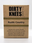 Rustic Country Bar Soap - Dirty Knees Soap - 4.2 oz / 119g